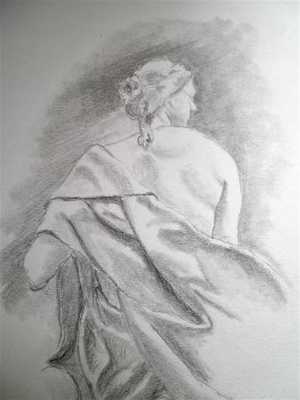 Détail Sculpture du Louvre