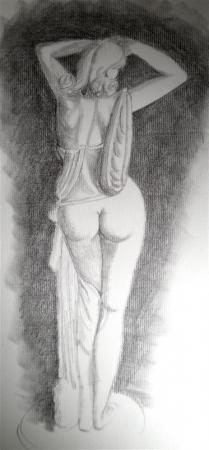 Drapée féminin