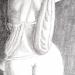 Détail drapée féminin