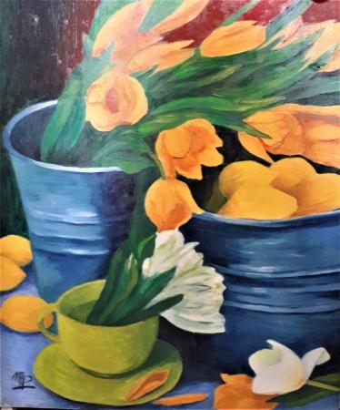 Le bouquet de tulipes